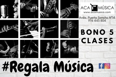 #regalamúsica en Zaragoza