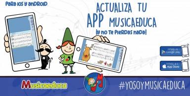 Descárgate gratis la APP Musicaeduca