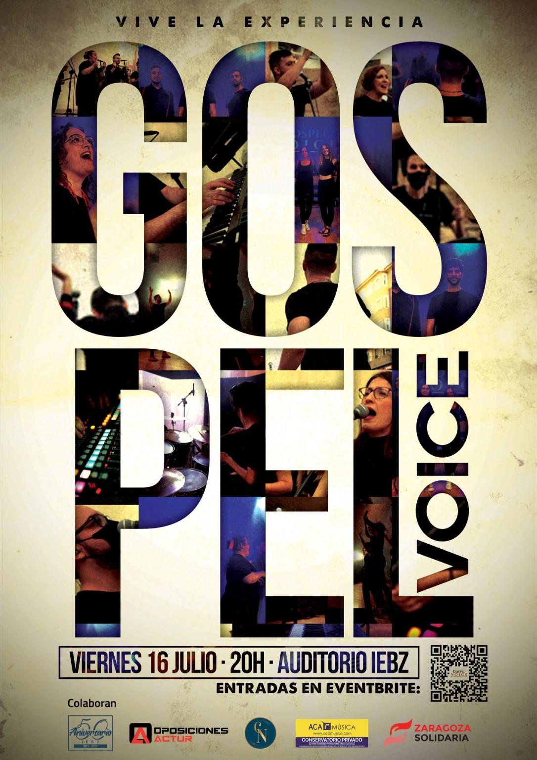 ACAMÚSICA colabora con el grupo GOSPEL VOICE