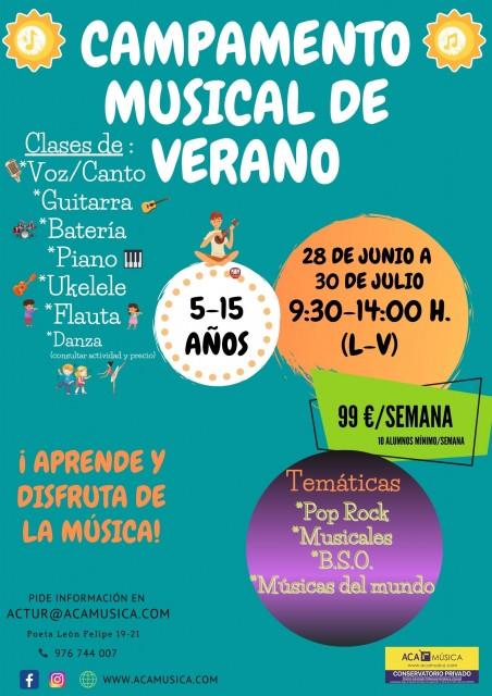 CAMPAMENTO MUSICAL DE VERANO
