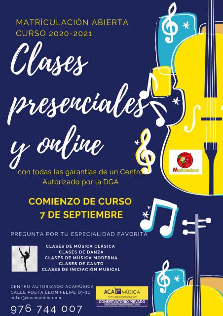 COMIENZO CLASES 7 DE SEPTIEMBRE