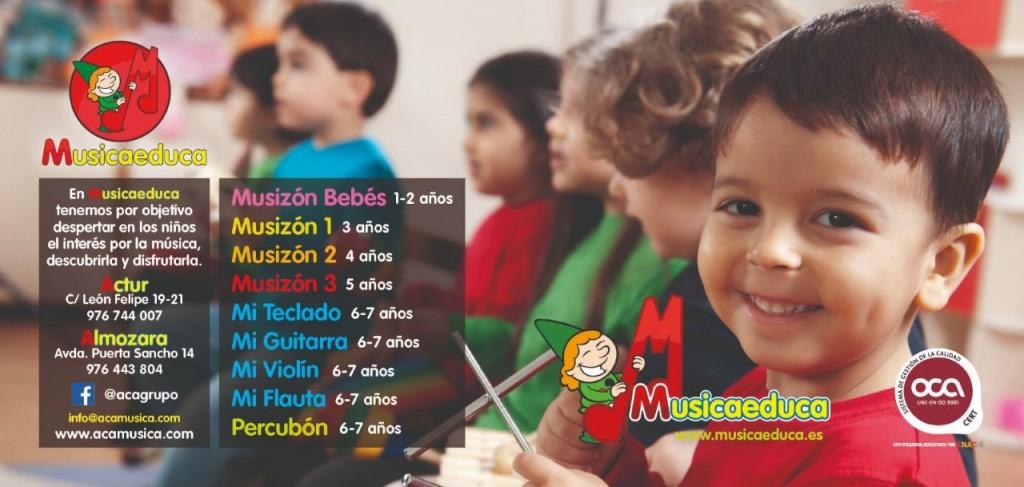 Cursos Musicaeduca en Zaragoza