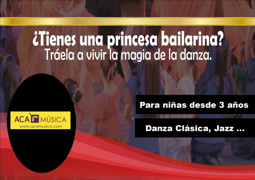 ¿Quieres que tu hija aprenda Ballet?