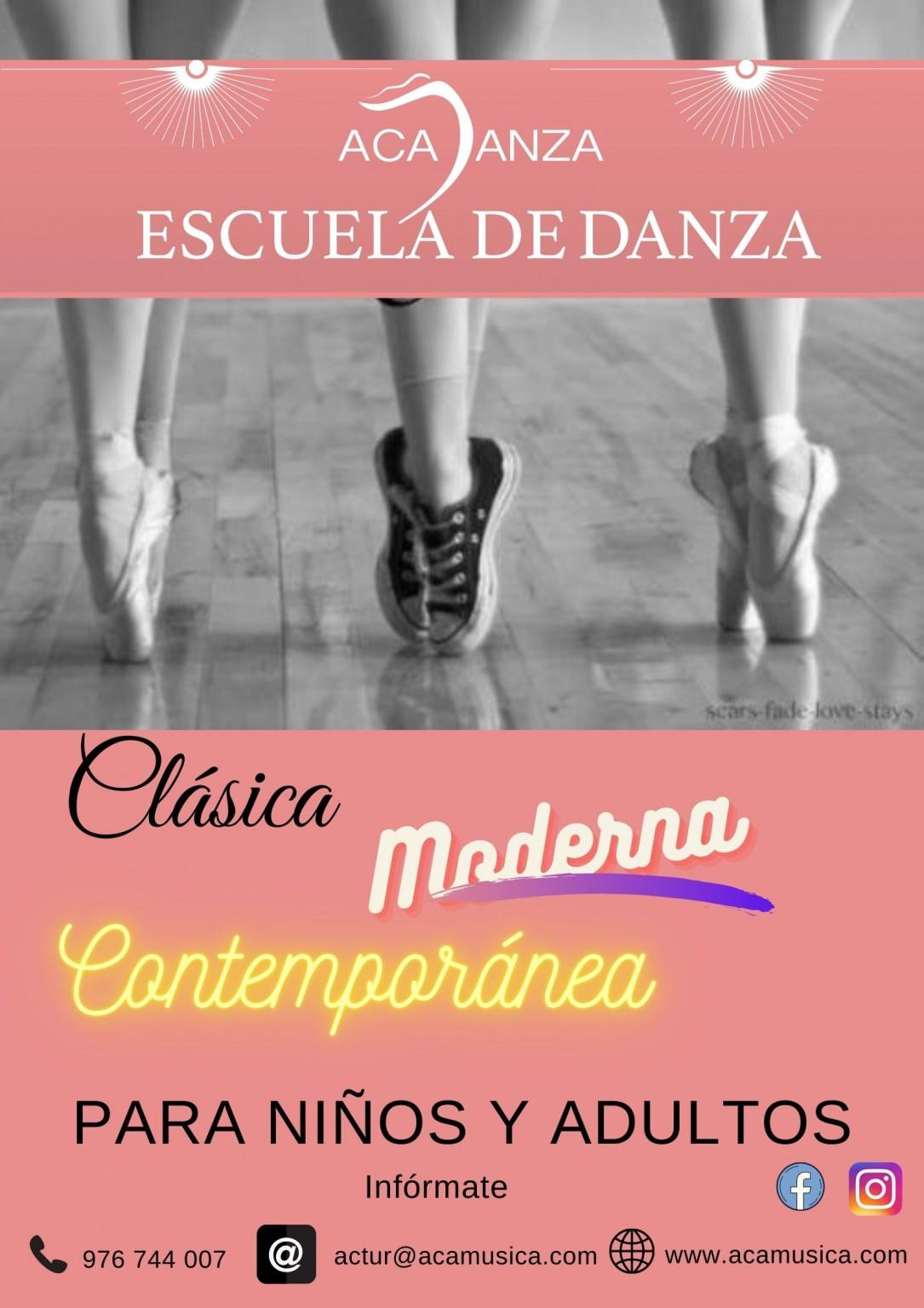 DANZA CLÁSICA - MODERNA - CONTEMPORÁNEA