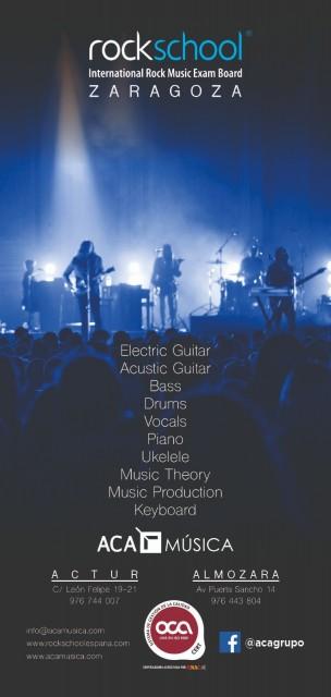 Cursos de Guitarra Eléctrica, Bajo, Batería,...en Zaragoza