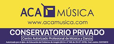 Acamúsica. Centros autorizados de música y danza en Zaragoza